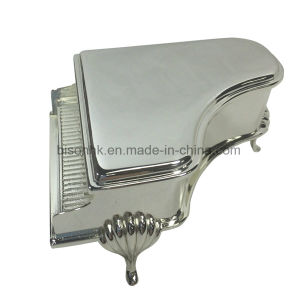 Made in China Wholesale Silver Plated Metal Jewelry Packaging Box for Wedding Gift pictures & photos
