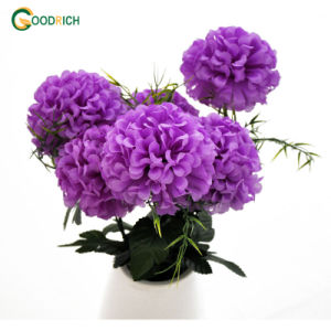 Silk Bouquet Flower with 7 Heads