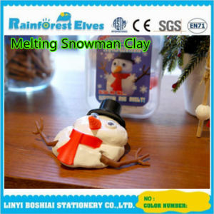 China Plastic Pot Toys for Kids Melting Snowman Putty