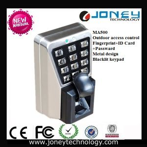 Ma500 RS485 TCP/IP Outdoor Metal Anti-Vandal Fingerprint RFID Access Control pictures & photos
