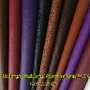 SGS Certification Factoryz047 PVC Artificial Leather Shoes Leather Bags Soft Car Leather Furniture Leather Synthetic Leather pictures & photos