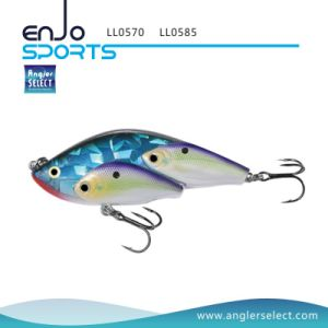 School Fish Lipless Fishing Tackle Lure with Bkk Treble Hooks (LL0585) pictures & photos