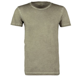 High Quality Men′s 100% Cotton Round Neck Plain T-Shit (D349)