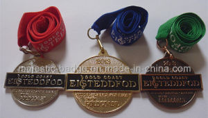 3D Customized Shiny & Gold Plating Medallion pictures & photos