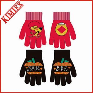 Acrylic Knitted Custom Magic Stretch Gloves pictures & photos