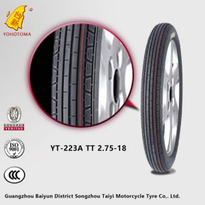 China Top Quality Low Price Motorcycle Tyre YT-223A TT2.75-18