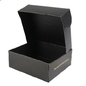Base and Lid Style Men′s Shirt Box with Foil Hot Stamping pictures & photos