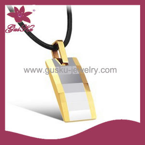 Popular Imitation Custom Tungsten Necklace Jewelry (2015 Gus-Tupn-015) pictures & photos