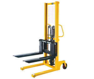 1000kg Manual Forklift Manual Pallet Stacker pictures & photos