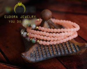 Beautiful Fashion Jewelry Pink Chalcedony Bracelet (SL2301)
