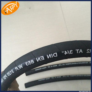 Happy Factory R16 Machine Tool Application High Pressure Rubber Hose pictures & photos
