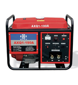 5kVA Protable Gasoline Open/Frame Welding Gererator/Solder Generator/Welding Genset/Solder Genset/Petrol Welding/Petrol Solder (WMAXQ1-190AE)