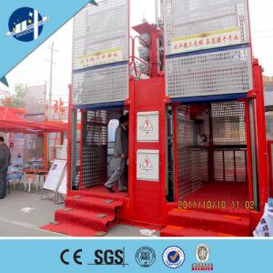 Sc200/200 -2000kg Ce, GOST Approved 2 Ton Construction Elevator, Construction Hoist for Sale pictures & photos