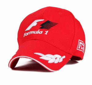 Spring and Summer F1 Motorcycle Racing Outdoor Sport Sunshade Snapback Hats with 3D Embroidery pictures & photos