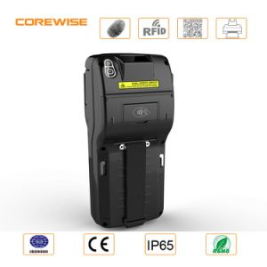 Handheld POS Terminal IC Card Reader with Fingerprint Scanner Built-in Printer pictures & photos