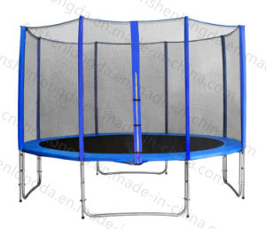 High Quality 10FT Outdoor Round Trampoline with Enclose pictures & photos