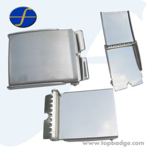 High Quality Fashion Metal Belt Buckle with Custom Logo (FTBB2805A) pictures & photos
