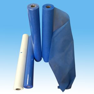 Disposable Paper Perforated Roll, Disposable Paper Coated PE Rolls pictures & photos
