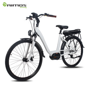 Aimos OEM China Electric City Bike MID Drive Motor 700c Electric City Bike pictures & photos