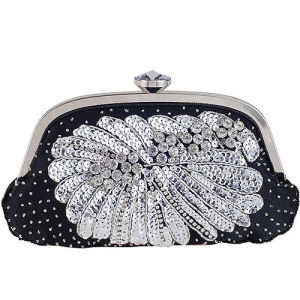 Wholesale Fashion Shinny Ladies Clutch Bag Women Purse and Handbags 2017 Eb925 pictures & photos