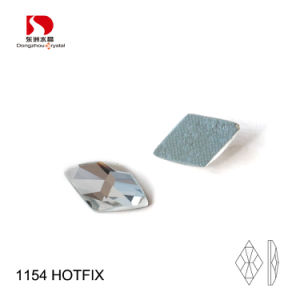 3A Factory Rhombus Shape Crystal Flatback Hotfix Rhinestone pictures & photos