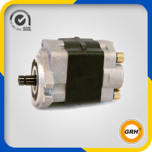 Left Rotation Cast Iron Gear Pump Hydraulic Oil Pump pictures & photos