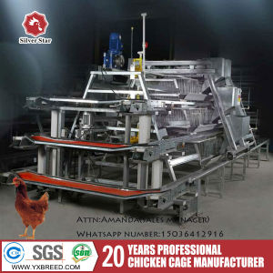 Henan Silver Star Factory Battery Cages for Layers for Farms pictures & photos
