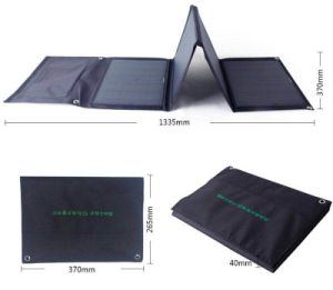 40W Portable Foldable Solar Charger for Charging Mobile Phone pictures & photos