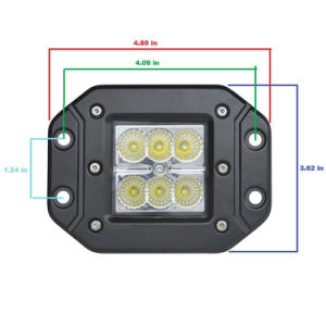 18W 4 Inch CREE LED Work Light SUV 4X4 Truck ATV Motor Vehicletruck Working Light Use pictures & photos