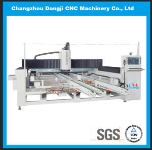 Horizontal CNC Glass Edging and Polishing Machine for Shaped Glass Table Top pictures & photos