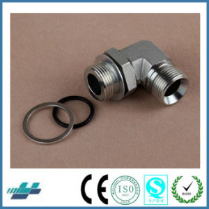 90 Degree Bsp Male O-Ring Adjustable Stud End Bite Type Tube Fittings Pipe Joints pictures & photos