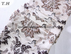 2016 Delicate Jacquard Fabric with Beautiful Flowers (FTH32058) pictures & photos