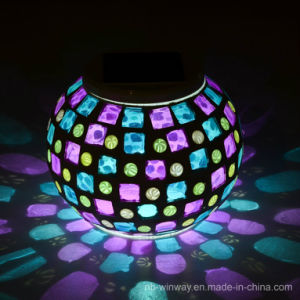 Solar Glass Mosaic Solar Indoor Light pictures & photos
