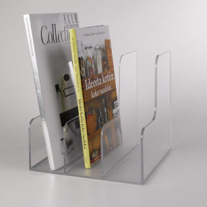 Top Grade 98% Acrylic Bookcase for Business pictures & photos