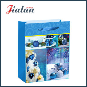 Wholesale Promotion Christmas Gift Packing Shopping Carrier Paper Gift Bag pictures & photos