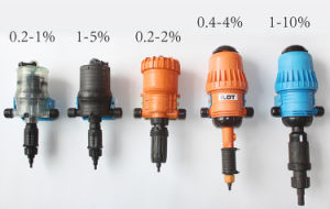 Ilot 1-10% Water-Driven Proportional Fertilizer Chemical Injector Pump pictures & photos