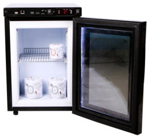 Glass Door Mini Display Refrigerator with Transparent LCD Screen (JGA-SC21HL) pictures & photos