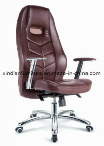 Office Modern Metal Executive Chair with Leather Faced pictures & photos