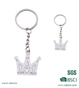 Factory Customized Metal Cross Key Chain for Souvenir (XD-1010) pictures & photos