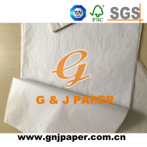 High Quality White Gift Wrapping Mg Tissue Paper pictures & photos