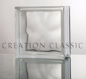 Blue/Green/Clear Diamond Patterned Glass Block/Brick Glass for Decoration pictures & photos