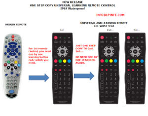 Waterproof Universal Remote Control Sealshiled TV Clean Hotel Hospital pictures & photos