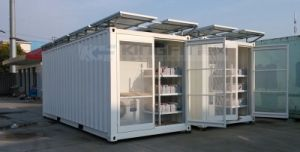 Solar Power Cold Storage Container. pictures & photos