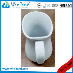 Wholesale White Porcelain Buffet Milk Pitcher Jug pictures & photos