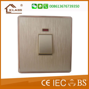 Wall Switches Electric Four Gang One Way Two Way Switch pictures & photos
