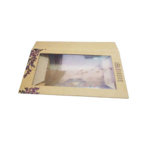 Kraft Board Sushi Paper Box with PVC Window pictures & photos