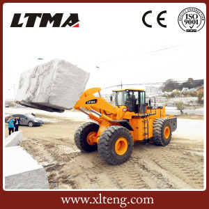 Chinese 22 Ton New Wheel Forklift Loader Price pictures & photos