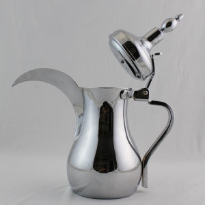 High Quality Single Wall 202 Stainless Steel Arabic Dallah Cofeee Pot (OSUL) pictures & photos