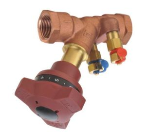 Brass Fixed Orifice Double Regulating Valve pictures & photos