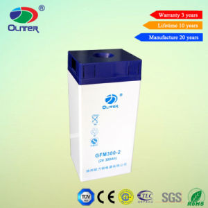 Oliter Sealed VRLA 2V 300ah Lead Acid Battery for Solar System
